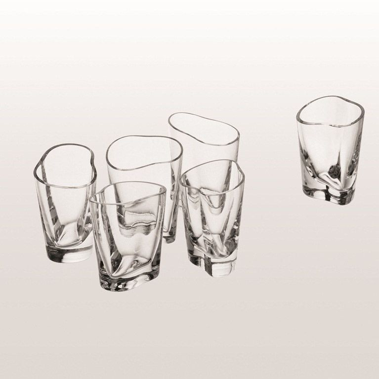 Set of 2 Happycell Whiskey Glasses