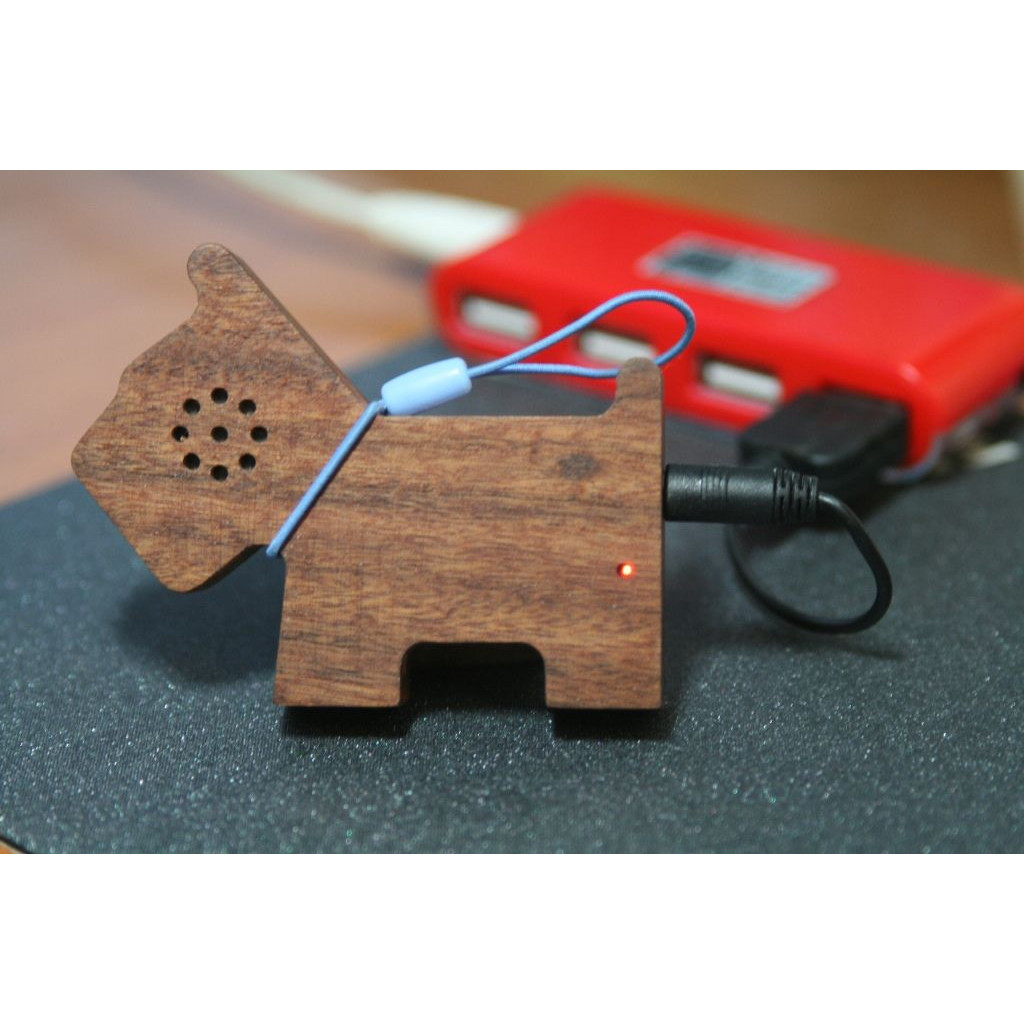 Tiny Wooden Pet Speaker