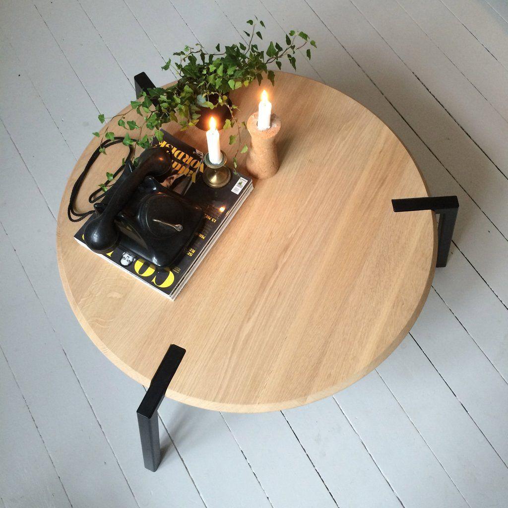TAP Coffee Table   Oak on Black