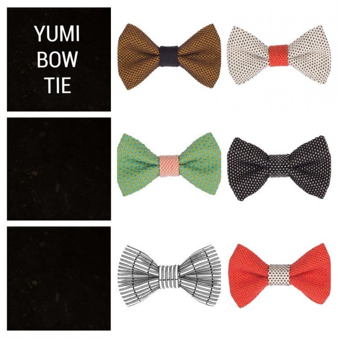 Yumi Bow Tie   Silver