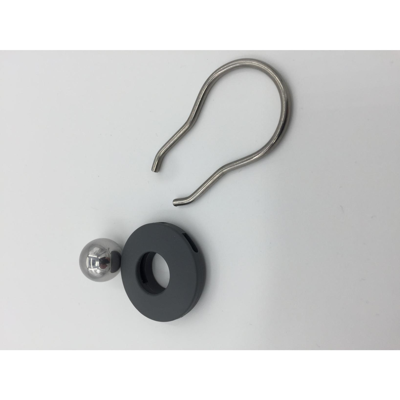 Schlüsselanhänger Orbit | Dunkelgrau