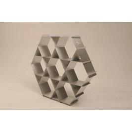 Aluminum Shelf | Natural Silver