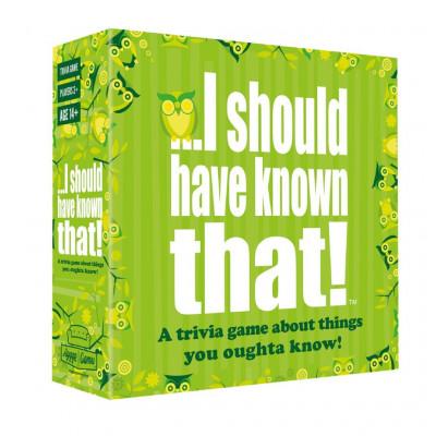 Trivialspiel ... Das hätte ich wissen müssen! (Englisch)