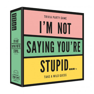 Trivialspiel I'm Not Saying You're Stupid (Englisch)
