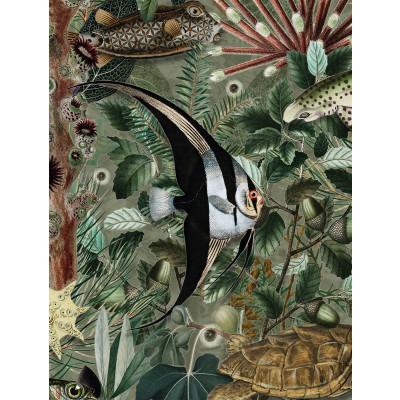 Wallpaper Underwater Jungle 4 Sheets | 685