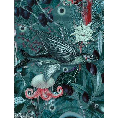 Wallpaper Underwater Jungle 4 Sheets | 686