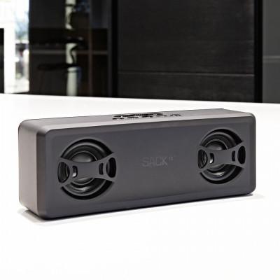 WOOFit Jam Drahtloser Lautsprecher | Mitternachtsschwarz