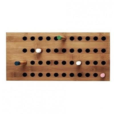 Horizontale Wandgarderobe Scoreboard   Klein