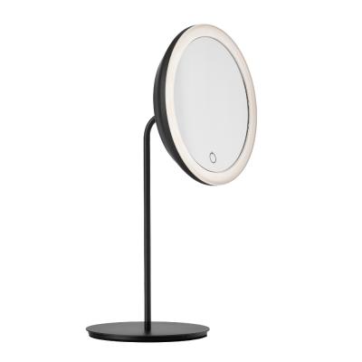 Tischspiegel 18 cm | Schwarz
