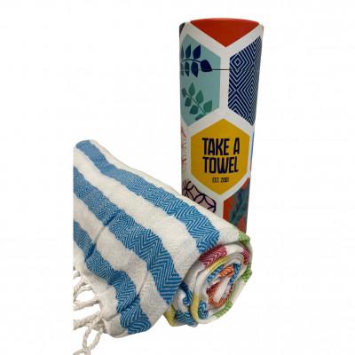 Hamam-Tuch Take A Towel | Regenbogen