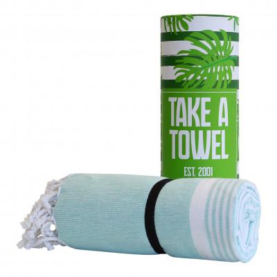 Hamam-Tuch Take A Towel | Grün