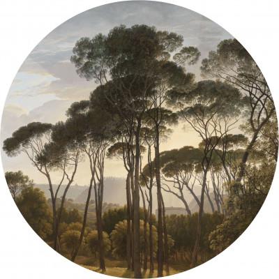 Wallpaper Circle Golden Age Landscapes | 5 Sheets