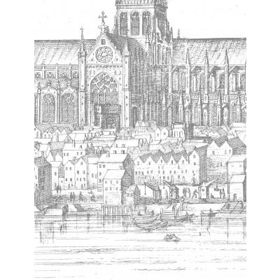 Wallpaper Engraved Landscapes London 6 Sheets