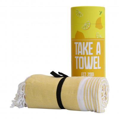 Hamam-Tuch Take A Towel | Gelb