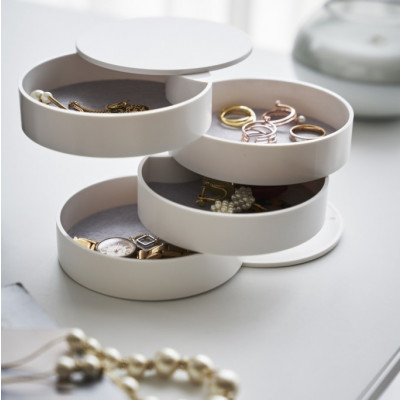 Accessory Tray Tower | White
