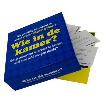 Partyspiel Wie In De Kamer (auf Niederländisch)