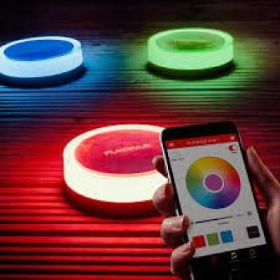 PLAYBULB Garden   Bluetooth Solarbetriebene LED-Gartenleuchte   3er-Set