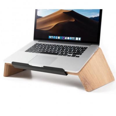 Laptop-Ständer aus Massivholz | Eiche