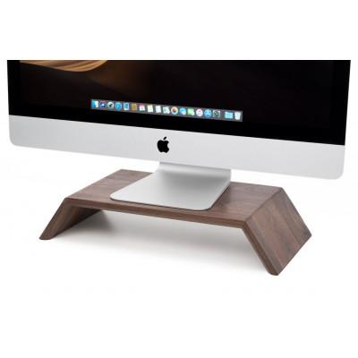 Monitorständer aus Massivholz | Nussbaum
