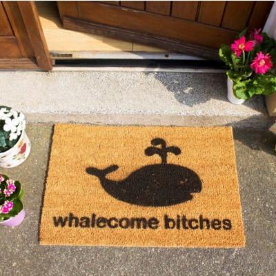 Fußmatte | Whalecome Bitches