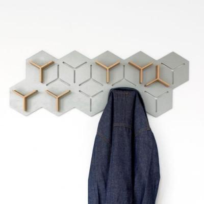 Grey Y Coat Hanger