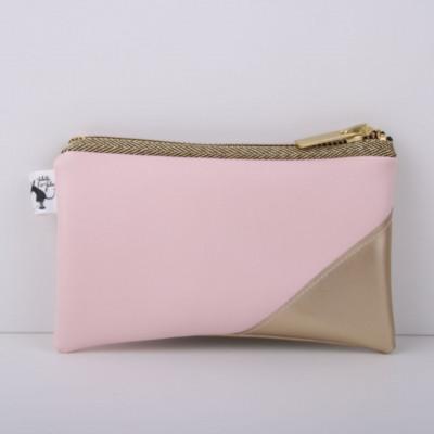Clutch   Gold & Pink