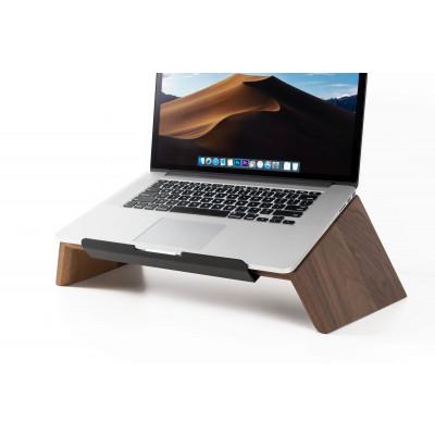 Laptop-Ständer aus Massivholz | Nussbaum