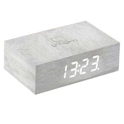 Kipp-Klick-Uhr   weiße Birke