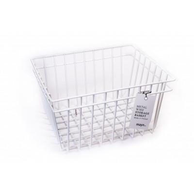Metal Wire Basket White | Medium