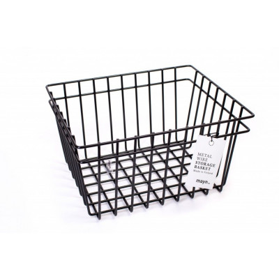 Metal Wire Basket Black | Medium