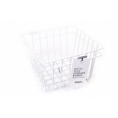 Metal Wire Basket White | Small