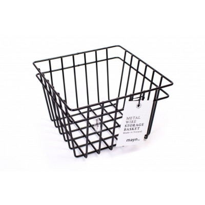 Metal Wire Basket Black | Small