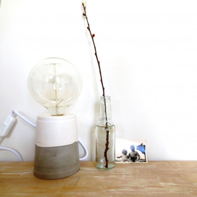 Marbled Lamp   Half & Half