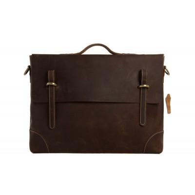 Messenger bag | Brown Leather