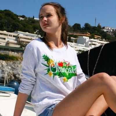 Women's Sweater   Chançard Mondial Tropical Cozy