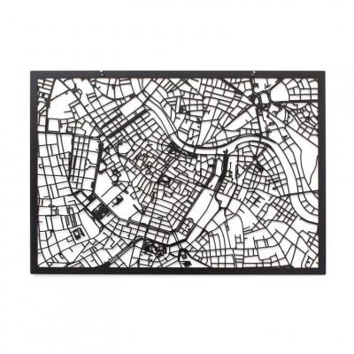 Map Vienna   Black
