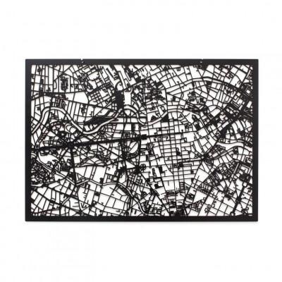 Map Berlin   Black