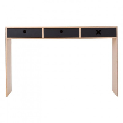 Schreibtisch Groß | Schwarz
