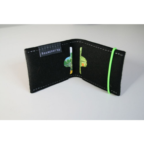Kreditkarte Brieftasche Schwarz
