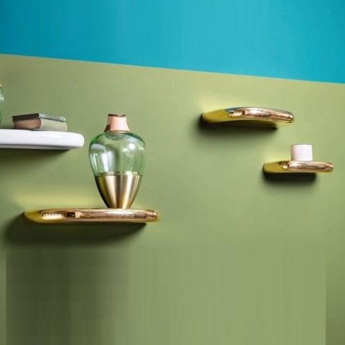 Pinna Shelf | Gold