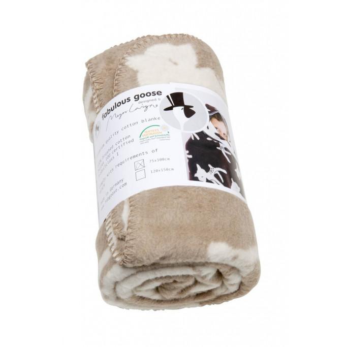 Blanket Bambi Beige/Natural