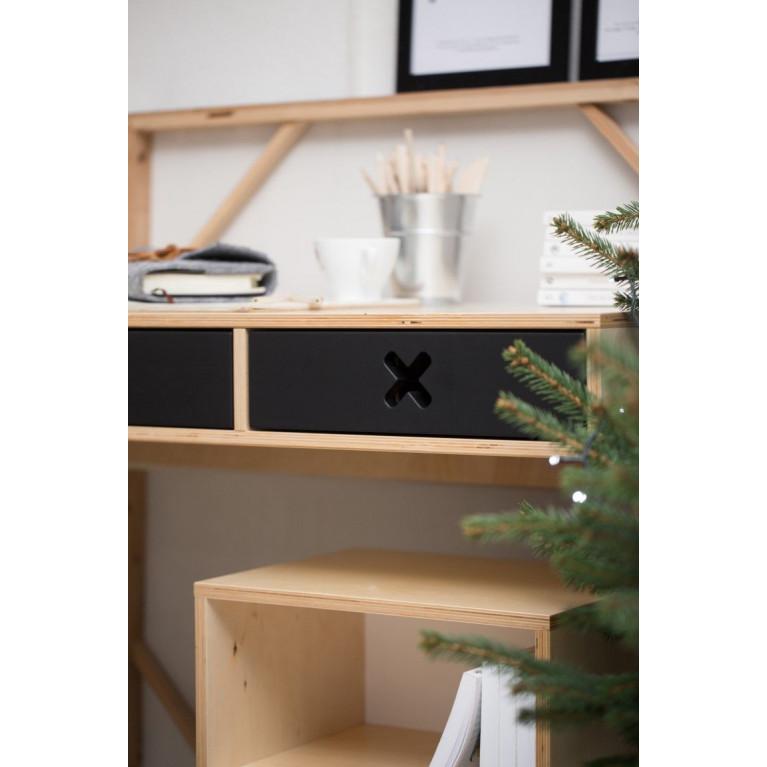 Schreibtisch Groß | Weiß