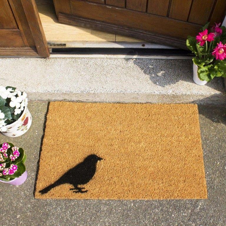 Fußmatte Vogel