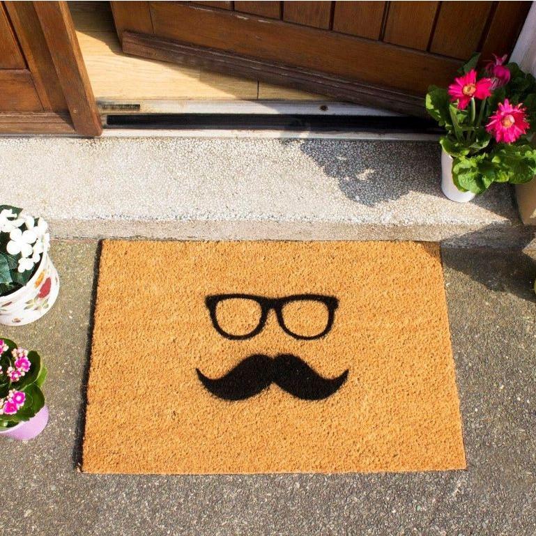 Fußmatte Mustaache & Glasses