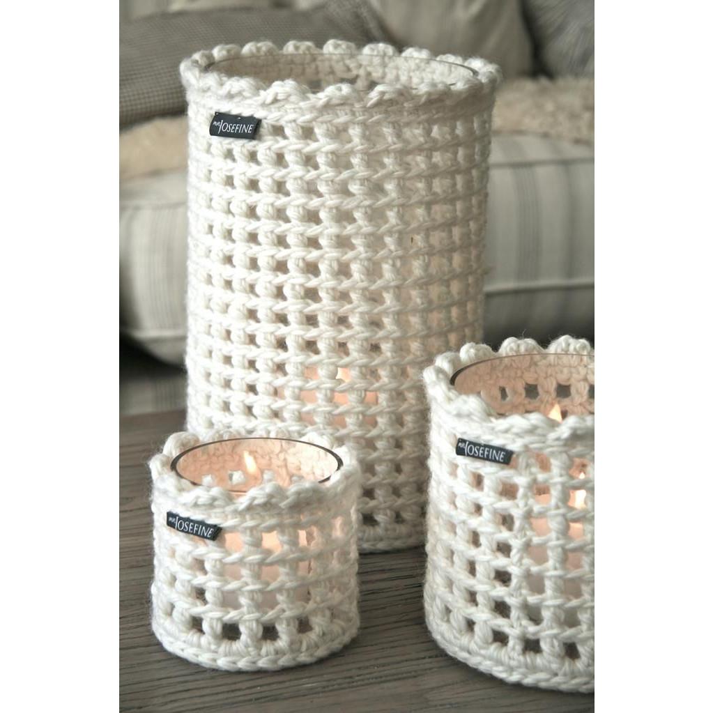 White Wool Lanterns