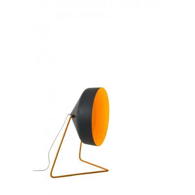 Stehleuchte Cyrcus F Lavagna Matt | Schwarz/Orange