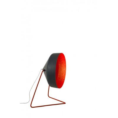 Stehleuchte Cyrcus F Lavagna Matt | Schwarz/Rot