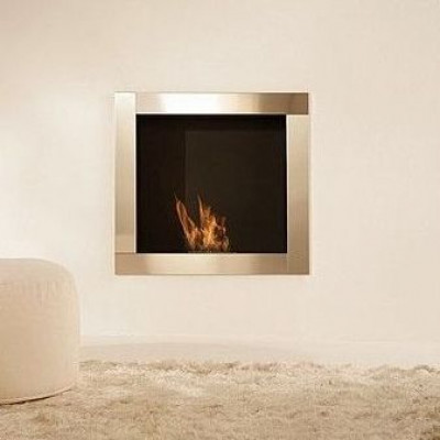 In-Wall Mobile Bio-fireplace