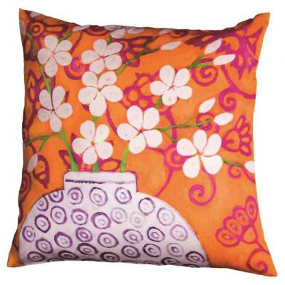 Designer-Kissen In Bloom Orange