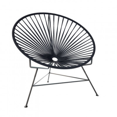 Innit-Stuhl Schwarz